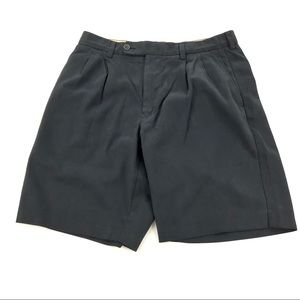 Tommy Bahama Men's Black Silk Shorts 32
